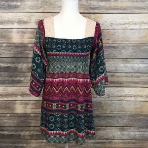 ❤️💚Boho Casual Dress by Flying Tomato